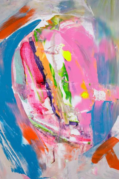Marit-Geraldine-Bostad Abstract Expressionist new works 'Young Intentions'